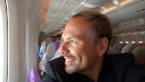 John DiScala conquered his fear of flying and now runs a popular travel website.
